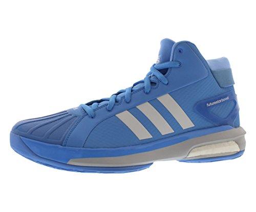 adidas Sm Boost Basketball Silver Mens Shoes White Futurestar Size Blue rfxgr