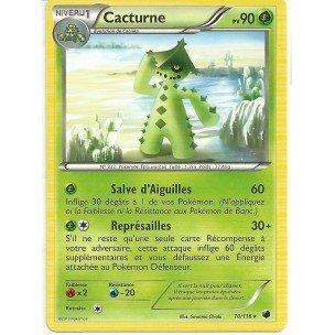 Nintendo - Tarjeta Pokémon 10/116 cacturne negro & blanco ...