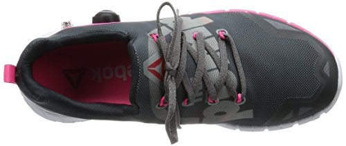 Zpump Donna Low Alloy Scarpe Pink Grey Reebok Multicolore Top Coal dTvx4adnq