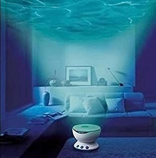 Dreamwave soothing relaxing ocean wave projector led night light ecvision led night light romantic ocean sea waves projector lamp with speaker blue aloadofball Choice Image