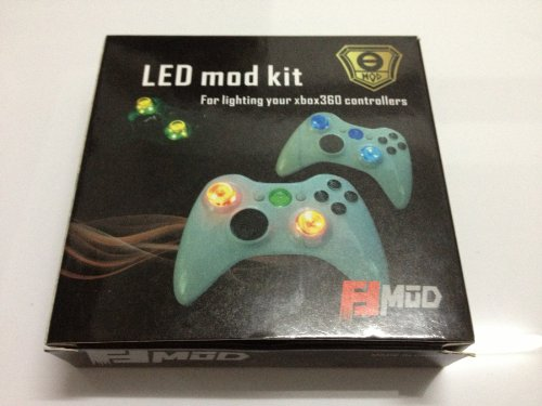LED Lighting Up KIT for Xbox 360 Controllers, Light-up your Xbox (Xbox 360 Controller Modding Kit)