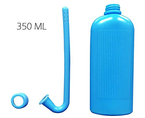 2PCS Colostomy Bag Cleaning Tool,Stoma Bags Plastic Cleaning Bottle for All Ostomy Bags for Permanent Use,350ML