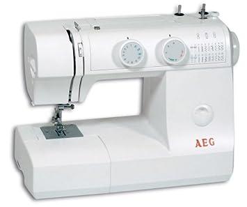 AEG NM 795 máquina de coser brazo libre con 23 programas: Amazon.es: Hogar