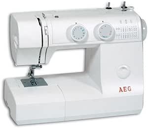 AEG NM 795 máquina de Coser Brazo Libre con 23 programas: Amazon ...