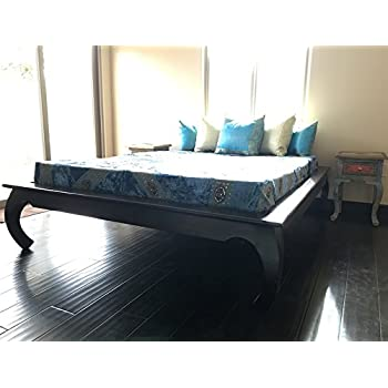 Amazon Com Carved Bed Frame Handmade In India From Solid