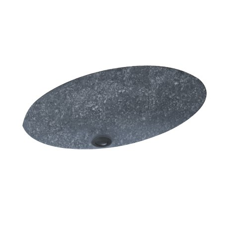 Swanstone UL-1913-012 Undermount Vanity Bowl, Night Sky Finish Desert Stone Bath Fixture