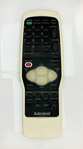 Genuine Admiral 07660CG030 Remote Control (Admiral Tv Remote compare prices)