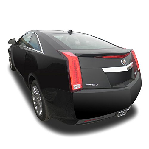 Dawn Enterprises CTS11-2DR Custom Style Flush Mount Spoiler Compatible with Cadillac CTS - Black Raven WA8555 (GBA)
