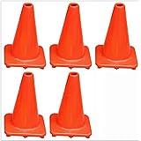 5pcs 45cm Road Traffic Safety Cone Football Training