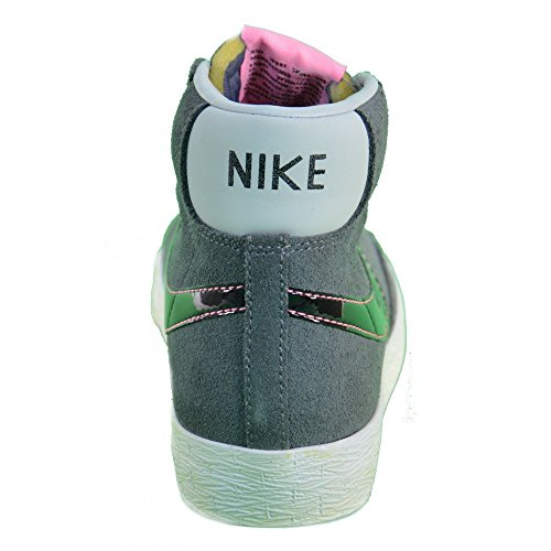 Nike M Nsw Modern Crw Bb Top de Manga Larga, Hombre Gris (Carbon Heather)