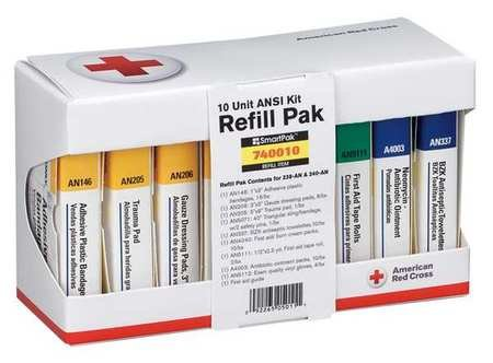 (First Aid Kit Refill, Unitized, 64Pcs)