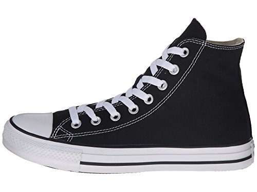 Converse Unisex Chuck Taylor All Star Hi Top Sneaker Nero / Bianco