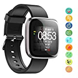 Seneo Fitness Tracker, Waterproof Activity Tracker Watch, Sports Pedometer with Heart Rate Monitor