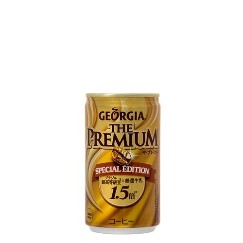 조지아 캔커피 더 프리미엄 스페셜 에디션 170g 캔 × 30 개 × 1 케이스