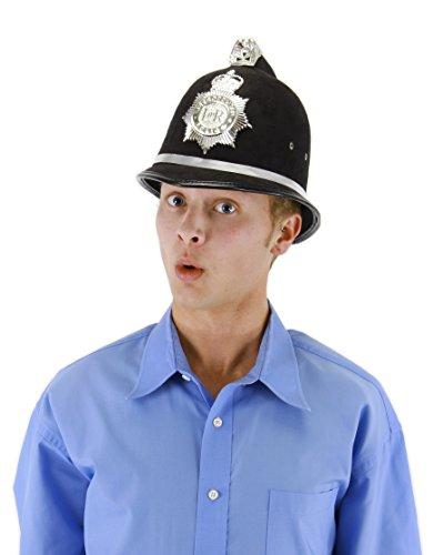 elope British Bobby Police Costume Helmet -