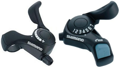 Shimano Shifters SL-TX30 Tourney 3x7 Pair by SHIMANO