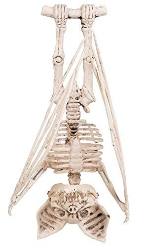 Boland 72185 Decorative Figurine Bat Skeleton 29 cm Unisex - Adults White ()