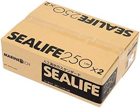 お一人様1点限り シーライフ 500リットル用(250L×2袋) 人工海水