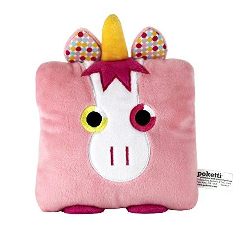 POKETTI Plushies with Pocket Powers Series2 - Plush Toy Unicorn - Shawn The Unicorn