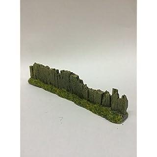 Javis Light Brown Sleeper Fencing Damaged - For Model Railway, War Gaming, Dioramas etc. by Javis