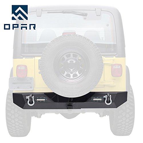 back bumper jeep wrangler - 3