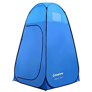 KingCamp Multi Tent, Outdoor Portable Multi-Use Pop Up Tent/Changing Room with Carry Bag