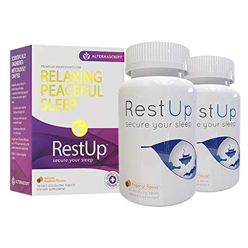 RestUp Fast Acting Melatonin Dissolve Tablets