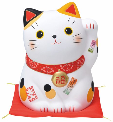 nishikiayafuku-come-beckoning-cat-extra-large-michelob-piggy-bank-