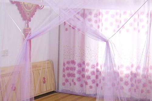 Mosquito Net for Camping bed - Mosquito Net Bug Insect Repeller Box Shape Travel Camping Home Single Double Bed Single Door 1.8m2m 2m2.2m