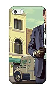 Best New Style Grand Theft Auto V Premium Tpu Cover Case For Iphone 5/5s