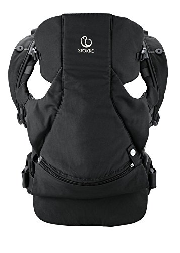 Stokke MyCarrier Front and Back Carrier, Black For Sale
