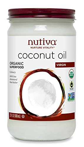 Nutiva Organic Virgin Coconut Oil, 23 Ounce (Nutiva Organic Unrefined Extra Virgin Coconut Oil)