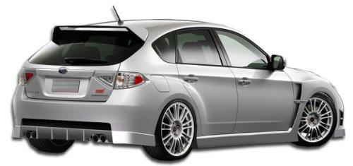 Duraflex ED-VOP-428 GT Concept Rear Bumper Cover - 1 Piece Body Kit - Compatible For Subaru Impreza 2008-2014
