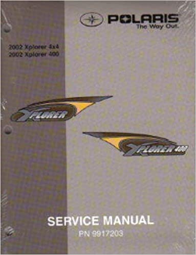 9917203 2002 Polaris XPLORER 250-400 Service Manual
