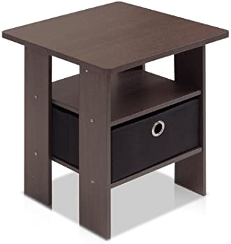 Petite End Table Bedroom Night Stand