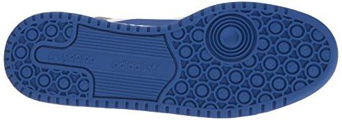 Adidas Originals Mænds Forum Midten Raffineret Mode Sneakers Hvid / Kollegialt Royal / Sølv Mødte QvegpNty