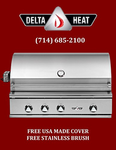 """32"""" Delta Heat Outdoor Gas Grill with Sear Zone and IR Rotis"""