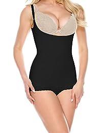 La-Reve Womens Shapewear Bodysuit Panty - Body Shaper with Tummy Control Slimmer