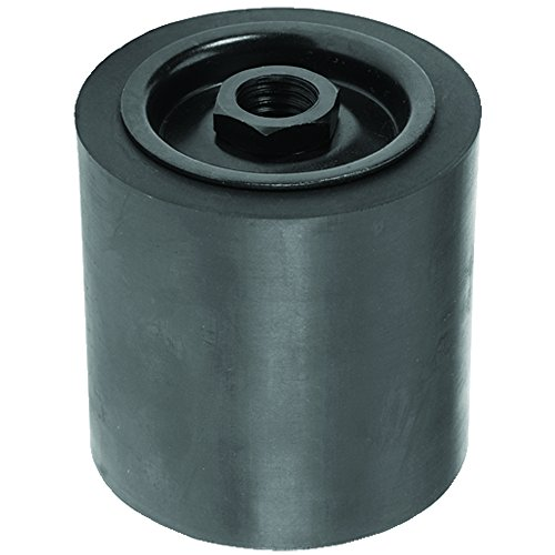 Climax Metals SD-048048-58FD Threaded Shaft Rubber Expansion Sanding Drum with 5/8-11 RH Threaded Shank, 3
