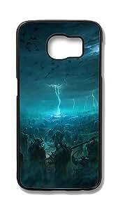 Samsung Galaxy S6 Edge Customized Unique Hard Black Case Battle Of The Immortals Case S6 Edge Cover PC Case