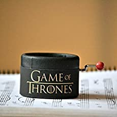 Game of Thrones music box. Music: main theme of the opening. Great gift for.