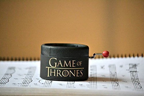 Game of Thrones music box. Music: main theme of the opening. Great gift for GOT tv show lovers. Gift packaging