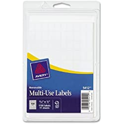 Avery Removable Rectangular Labels