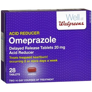 Walgreens Omeprazole Dr 20Mg Tablets 28 ea
