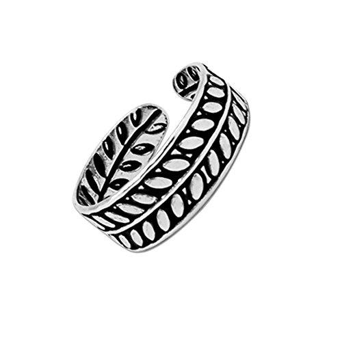 1 pcs. Soul-Cats® trendy toe ring 925 sterling silver toe ring various designs adjustable model. Model 1
