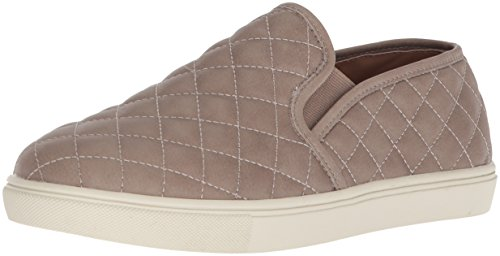 Steve Madden Women's Ecentrcq Sneaker, Grey, 8.5 Wide