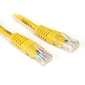 Amazon.com: StarTech.com Yellow Molded Crossover RJ45 UTP