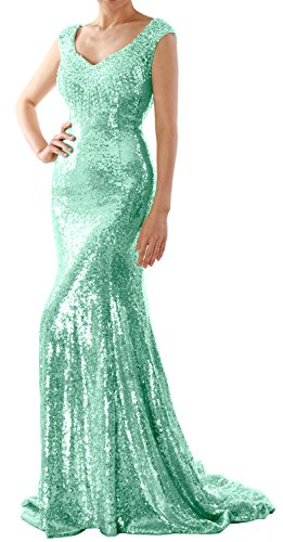 Party Long Minze Sequin Wedding Dress MACloth Mermaid Gown Prom Formal Women Evening Czwg1xBqn6