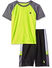 Boys' T-Shirt and Mesh Short Set
