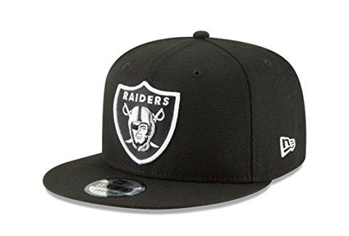 New Era NFL Oakland Raiders Shield Logo Block Back Snapback Cap 9Fifty NewEra – DiZiSports Store